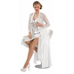 Bridal SIX-PIECE SATIN SET
