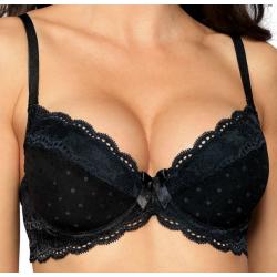 Push-up bra LaGerta black